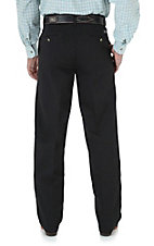 Wrangler® Riata™ Black Flat Front Casual Relaxed Fit Pants