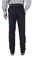 Wrangler Riata Navy Blue Casual Relaxed Fit Pants