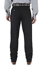 Wrangler� Riata? Black Casual Relaxed Fit Large Waist Pants