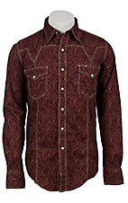Roper® Men's Long Sleeve Western Snap Shirt 00640125RE
