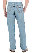 Wrangler 20X Laser Blue Relaxed Fit Competition Jean- 38in Inseam