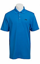 Under Armour® Men's Tropez Blue UA Performance  Polo