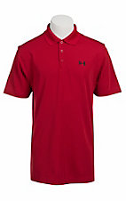 Under Armour® Men's Fireball Red UA Performance Polo