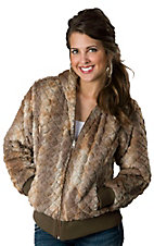 Ariat® Women's Willow Faux Fur/Satin-Like Reversible Jacket