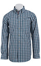 Ariat Men's L/S Morrow Multi Western Plaid Shirt 10011388