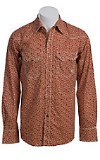 Ariat Men's L/S Bruno North Fire Print Western Snap Shirt 10011457