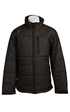 Ariat Men's Espresso Brown Bolton Duck Down Insulated Jacket 10011510