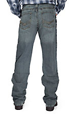 Ariat® M4 Livewire Gunsmoke Low Rise Fashion Boot Cut Jeans