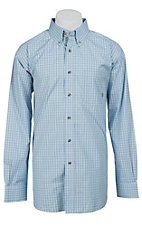 Ariat Men's L/S Wells Western Plaid Shirt 10012167