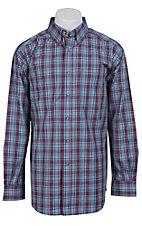 Ariat Men's L/S Vista Western Plaid Shirt 10012185