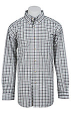 Ariat Men's L/S Dries Western Plaid Shirt 10012188