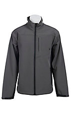 Ariat Men's Grey & Black Vernon Softshell Jacket