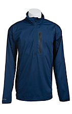 Ariat Tek Men's Estate Blue Elko 1/4 Zip Pullover 10012596