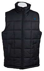 Ariat Men's Black Crius Polyfill Quilted Vest 10012642