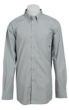 Ariat Men's L/S Jerry Western Check Shirt 10013289