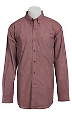 Ariat Men's L/S Carson Western Print Shirt 10013298
