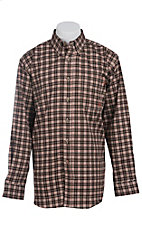 Ariat Work FR Men's Plaid Long Sleeve Flame Resistant Work Shirt 10013512