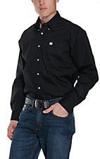 Cinch L/S Mens Solid Fine Weave Shirt 10320083