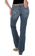 Booty Up™ by Wrangler® Ladies American Royal Low Rise Dark Stonewash Jean