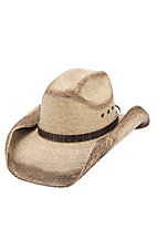 Cavenders 10X Ranger Burnt Palm Leaf Hat