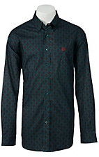 Cinch L/S Mens Fine Weave Shirt 1103547