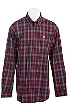 Cinch L/S Mens Fine Weave Shirt 1103569