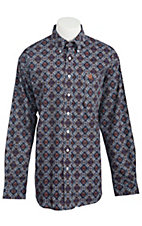 Cinch L/S Mens Fine Weave Shirt 1103578