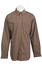 Cinch L/S Mens Fine Weave Shirt 1103582