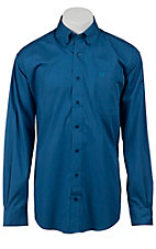 Cinch L/S Mens Solid Fine Weave Shirt 1103593
