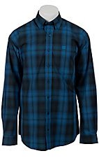 Cinch L/S Mens Fine Weave Shirt 1103596