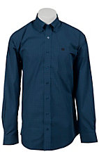 Cinch L/S Mens Fine Weave Shirt 1103597