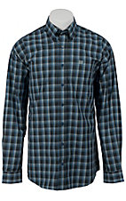 Cinch L/S Mens Fine Weave Shirt 1103598