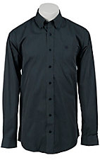 Cinch L/S Mens Fine Weave Shirt 1103600