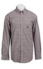 Cinch L/S Mens Fine Weave Shirt 1103608