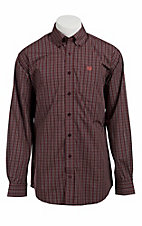 Cinch L/S Mens Fine Weave Shirt 1103609
