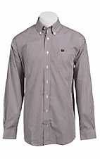 Cinch L/S Mens Fine Weave Shirt 1103613