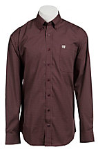 Cinch L/S Mens Fine Weave Shirt  1103615