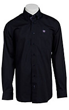 Cinch L/S Mens Solid Fine Weave Shirt 1103620