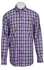 Cinch L/S Mens Fine Weave Shirt 1103624