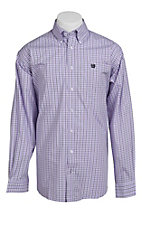 Cinch L/S Mens Fine Weave Shirt 1103625