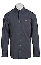 Cinch L/S Mens Fine Weave Shirt 1103628