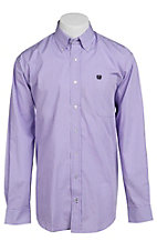 Cinch L/S Mens Fine Weave Shirt 1103629