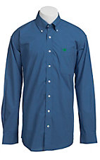 Cinch L/S Mens Fine Weave Shirt 1103634