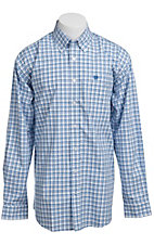 Cinch L/S Mens Fine Weave Shirt 1103635