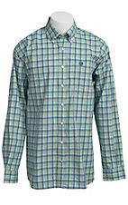 Cinch L/S Mens Fine Weave Shirt 1103637