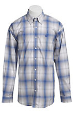 Cinch L/S Mens Fine Weave Shirt 1103638