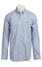 Cinch L/S Mens Fine Weave Shirt 1103640