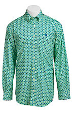 Cinch L/S Mens Fine Weave Shirt 1103643