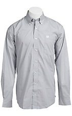 Cinch L/S Mens Fine Weave Shirt 1103645