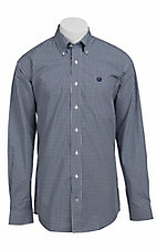Cinch L/S Mens Fine Weave Shirt 1103647